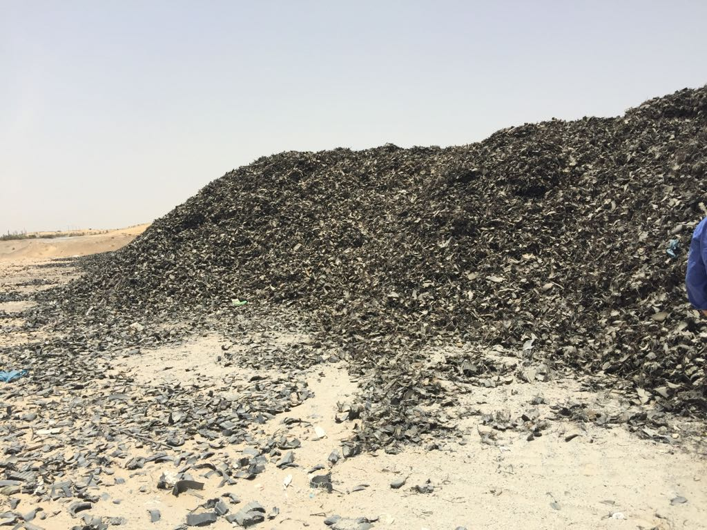 500MT Shredded Tyre Scrap Available for Sale