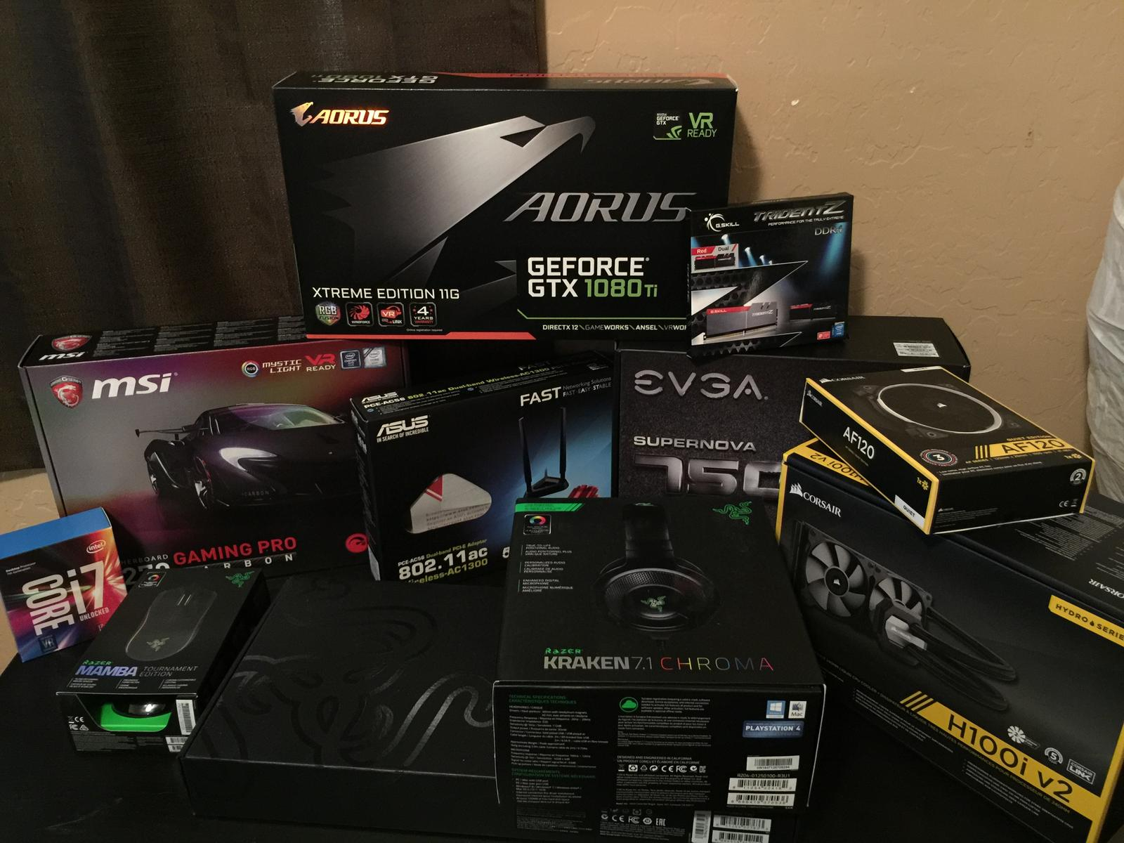 ROG GeForce GTX 1080 Ti 11GB C STRIX Asus NVIDIA 1080 ti G ming 11GB Video Graphics
