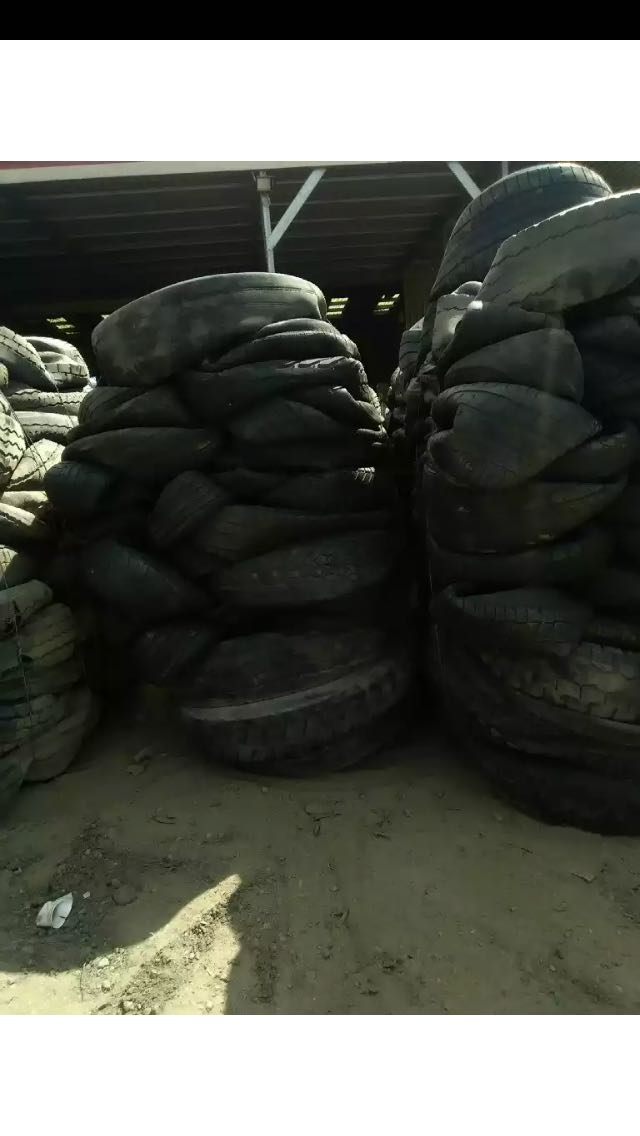 100 MT Tyre Scrap in Bales for Sale
