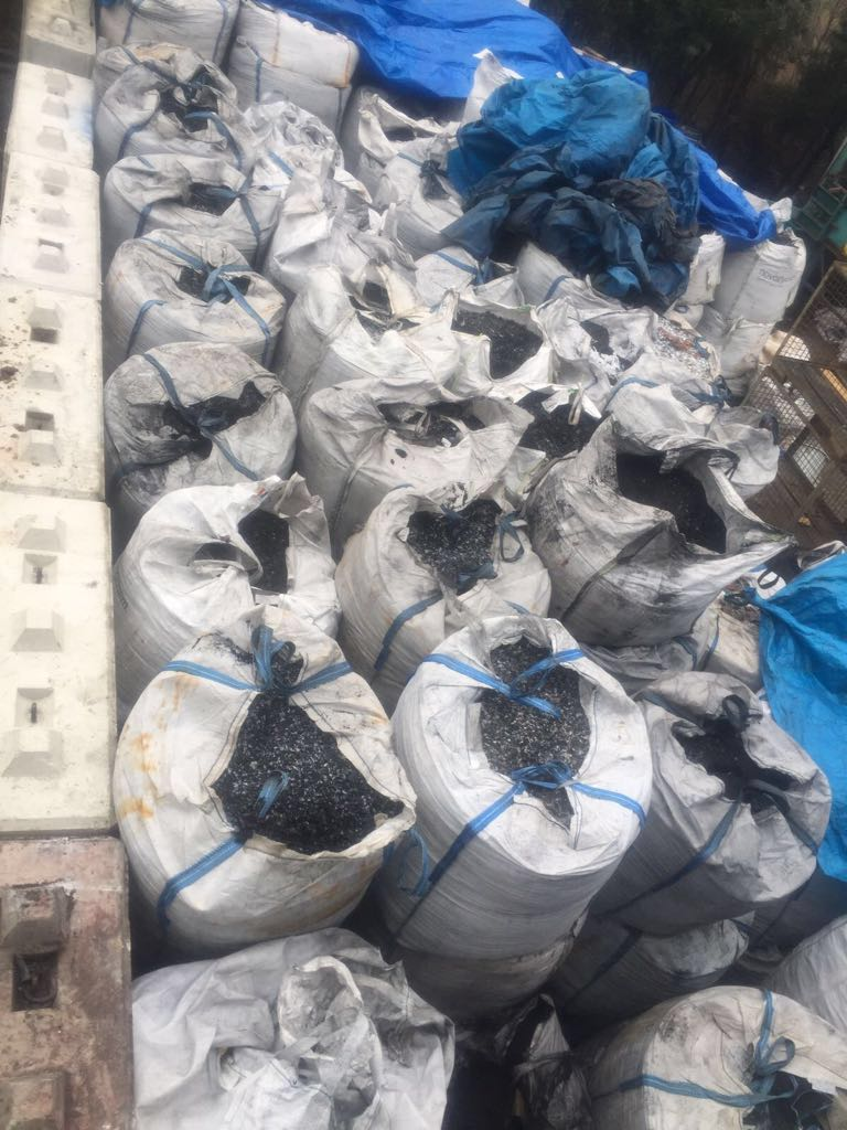 1000 MT of Battery Zinc Dust waste for sale