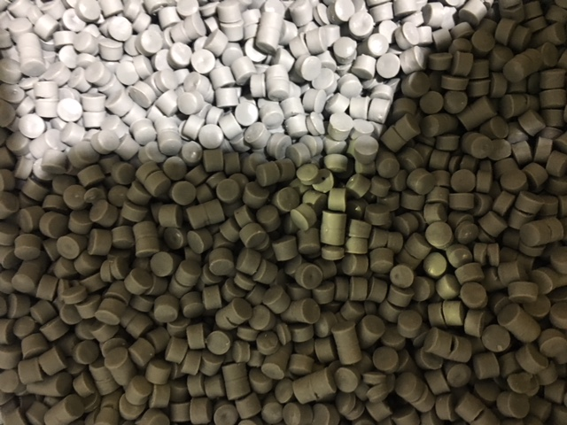 Mixed Color HDPE Bottle Grade Pellets for Sale @ USD $ 825 / MT