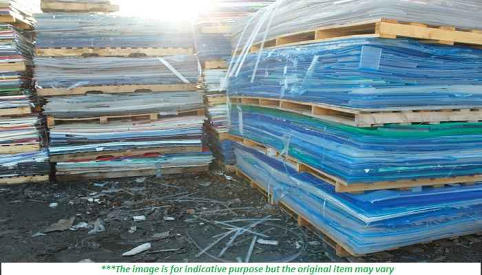 100 MT of PMMA Sheet & Offcut scrap for sale