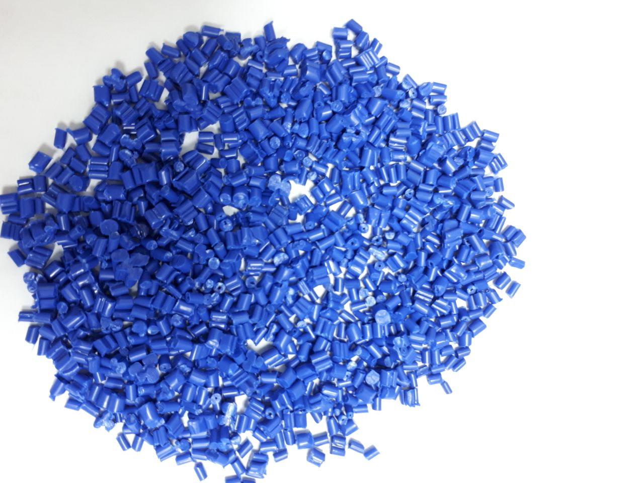 Blue Color PP Non-Woven Reprocess Granules 75 MT for Sale @ 850 US $