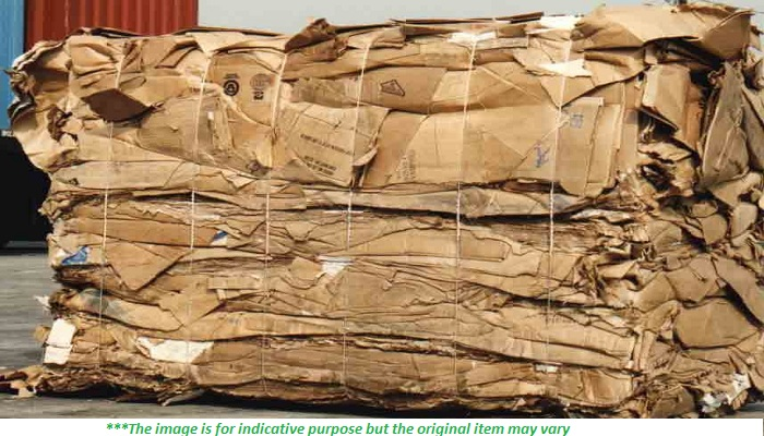 500 MT of baled OCC  Scrap for sale on regular months