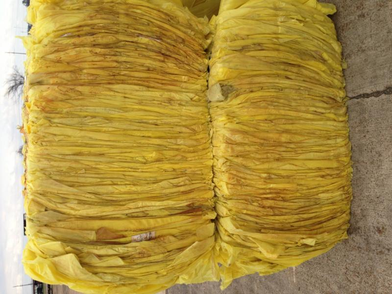 LDPE yellow cotton module film - [From USA]