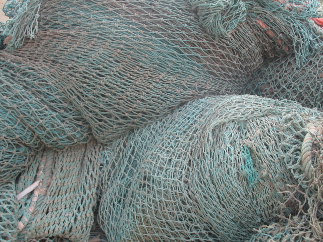 HDPE/PP Monofilament Fishnet Scrap - 100MT per Month for