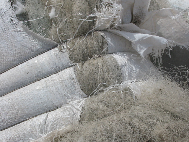 Supplying Nylon Monofilament Fishnet Scrap 100MT/Month