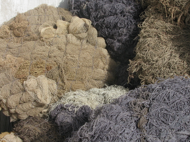 Nylon Fishnet Scrap Available for Sale