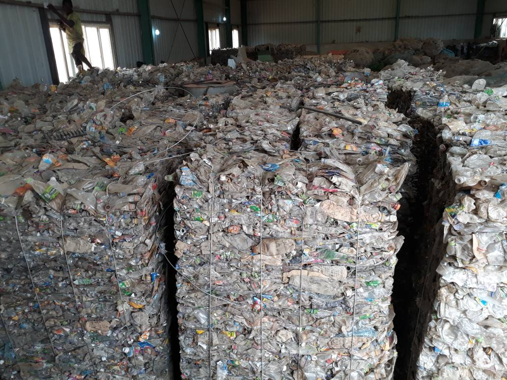 300 MT of Baled PET Bottle scrap for sale