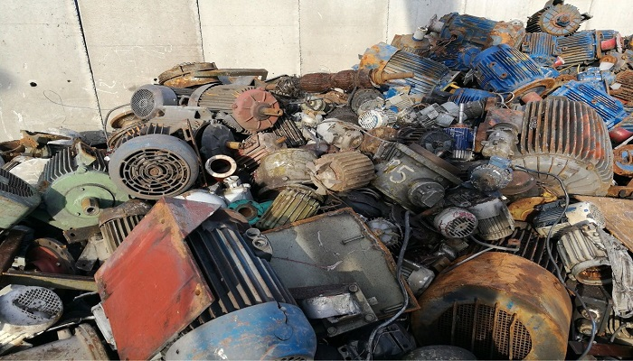 200 Tons Electric Motor Scrap for Sale
