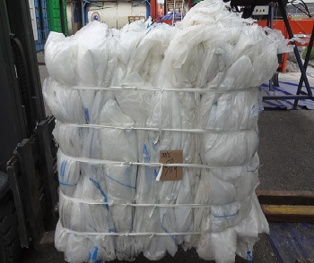 26 MT of Clear LDPE for sale