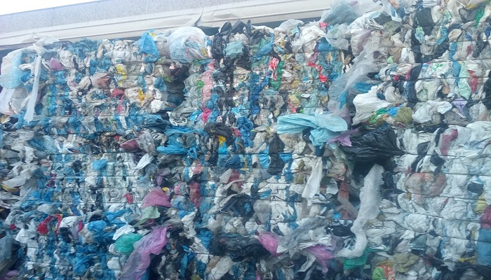 LDPE Mix Color Scrap for Sale in Bales