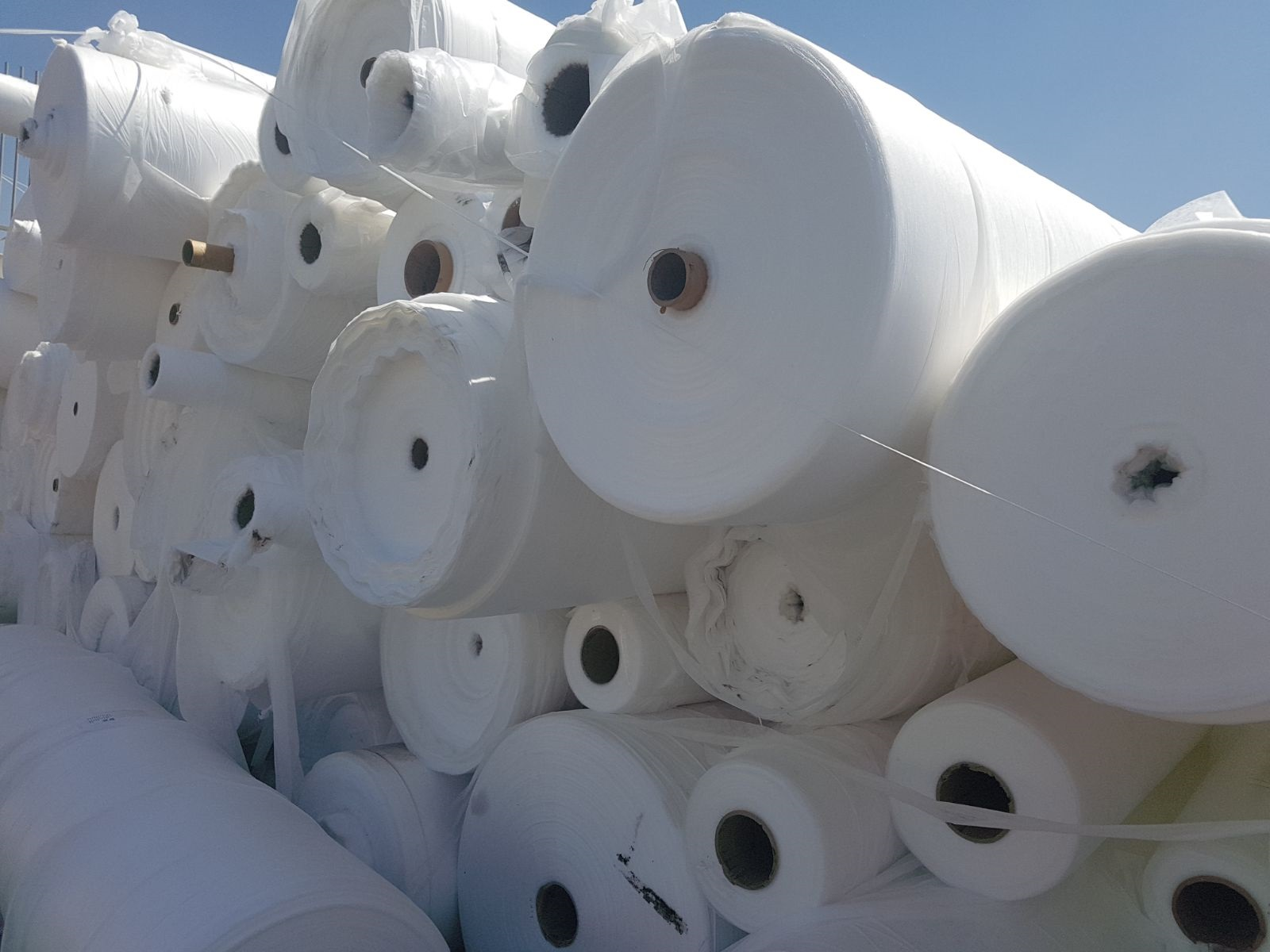 12 Tons per Month PP Rolls Scrap for Sale