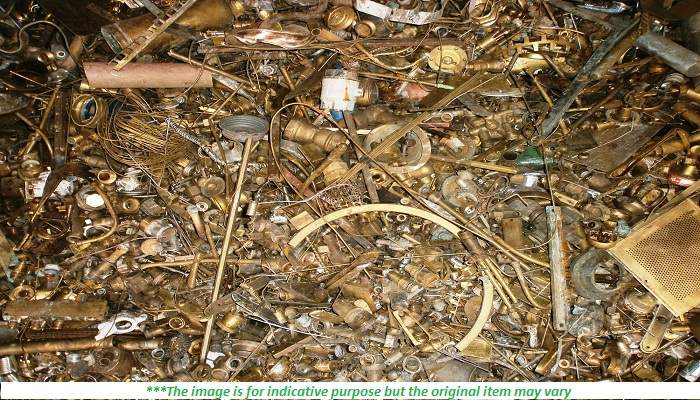 300 Tons Honey Brass Scrap for Sale