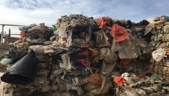 250 MT Mixed Construction Plastic Film Scrap for Sale