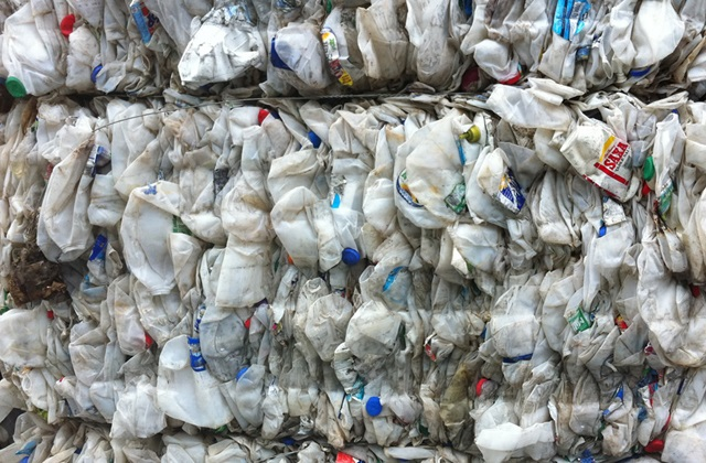 800 Tons per Month HDPE Mixed Bottle Scrap for Sale