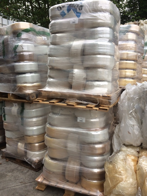 20 Tons PP Film Rolls Scrap in Bales for Sale