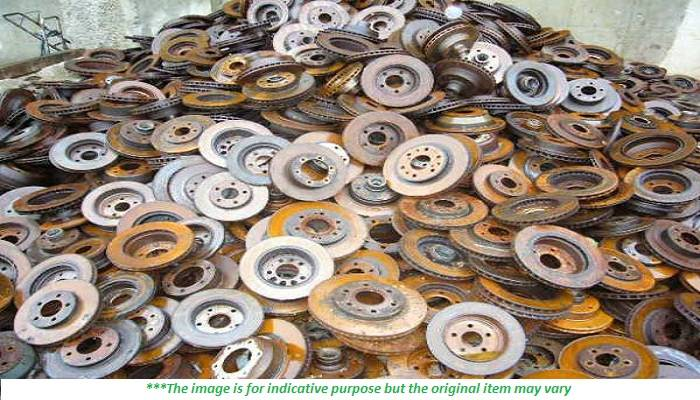 500 MT per Month Cast Iron Scrap for Sale
