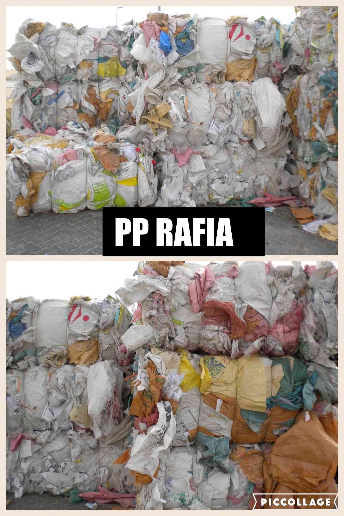150 MT PP Raffia Scrap for sale