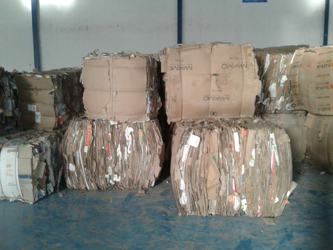 500 MT OCC Scrap for Sale in Bales