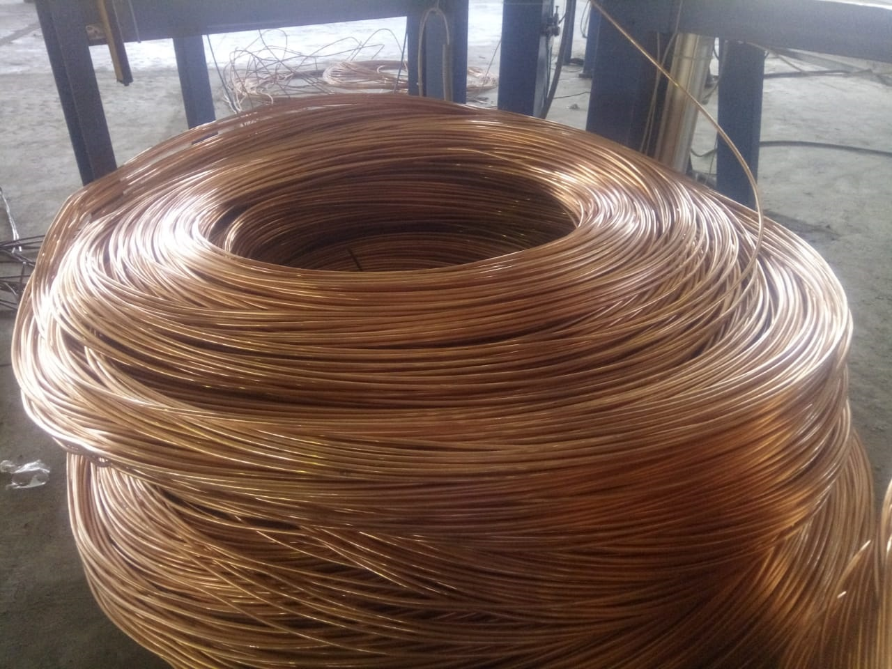 100 Tons Copper Coil Scrap for Sale
