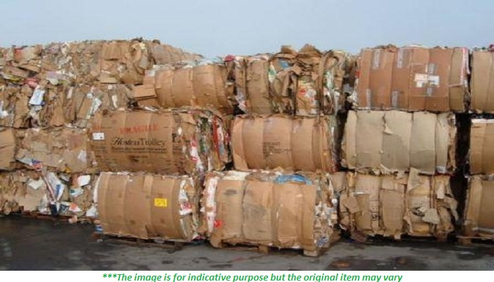 250 Tons Mix OCC Scrap and ONP Scrap for Sale @ 40 US $