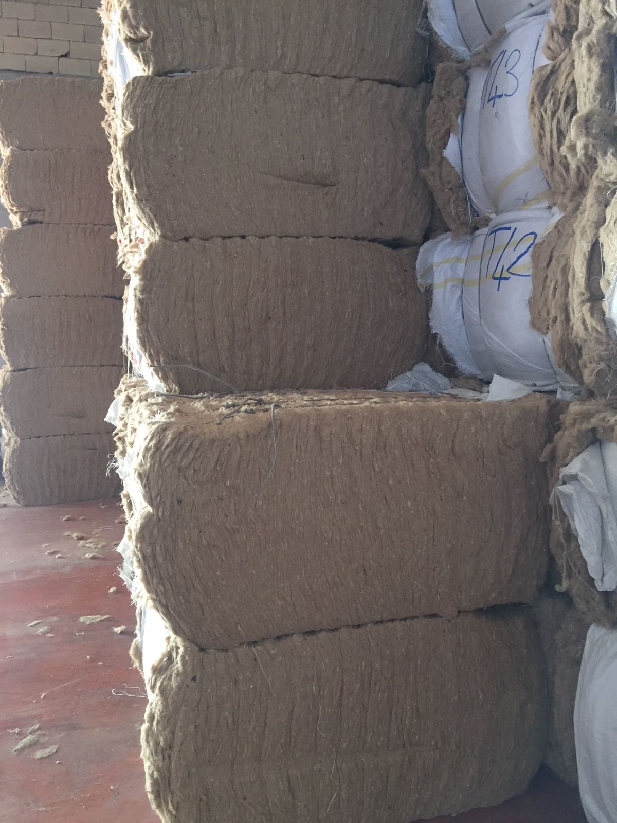 1500 Kg Unfolded Jute Scrap for Sale @0.15$ per Kg