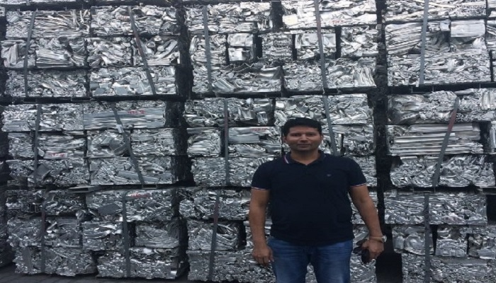 500 MT Aluminum Extrusion Scrap on Monthly Sale
