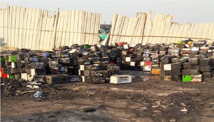 Acid Free Used Battery Scrap 200 MT per Month for Sale