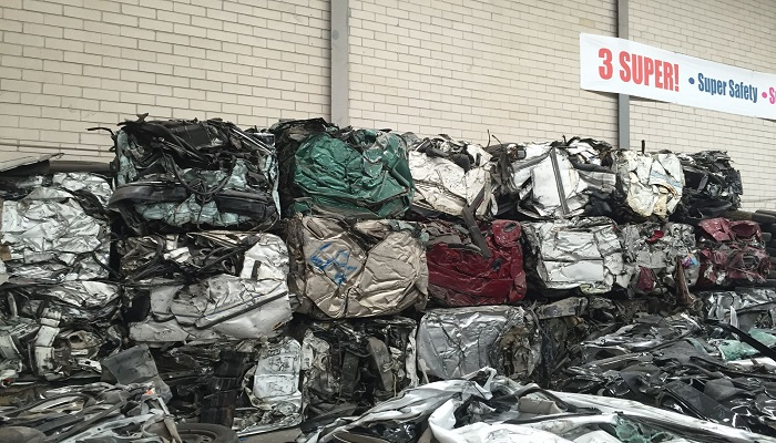 500 Tons Baled Car Scrap for Sale