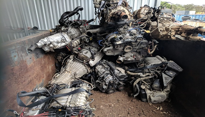 Complete Car Engines Scrap 500 Tons for Sale