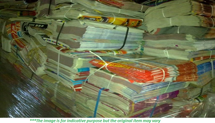 500 Tons Dry Old Magazines Scrap in Baled and Sorted for Sale