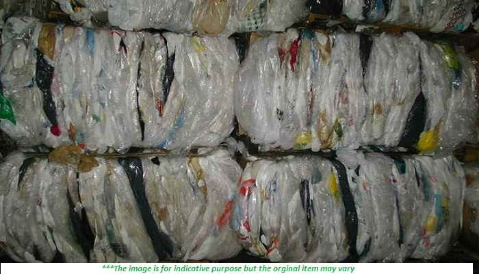 Mixed Color LDPE Film Scrap 100 MT in Bales for Sale