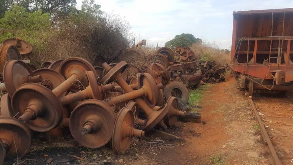 Used Rail Scrap - 700 MT For Sale