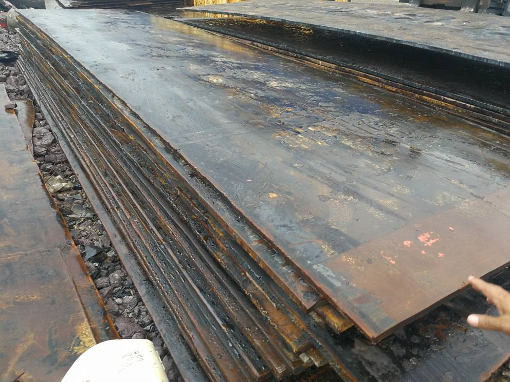 1000 MT Steel Plates Scrap for Sale