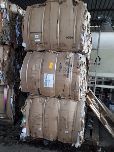 BALED SORTED 98/2 OCC Scrap 200 Tons for Sale @ 166 US $