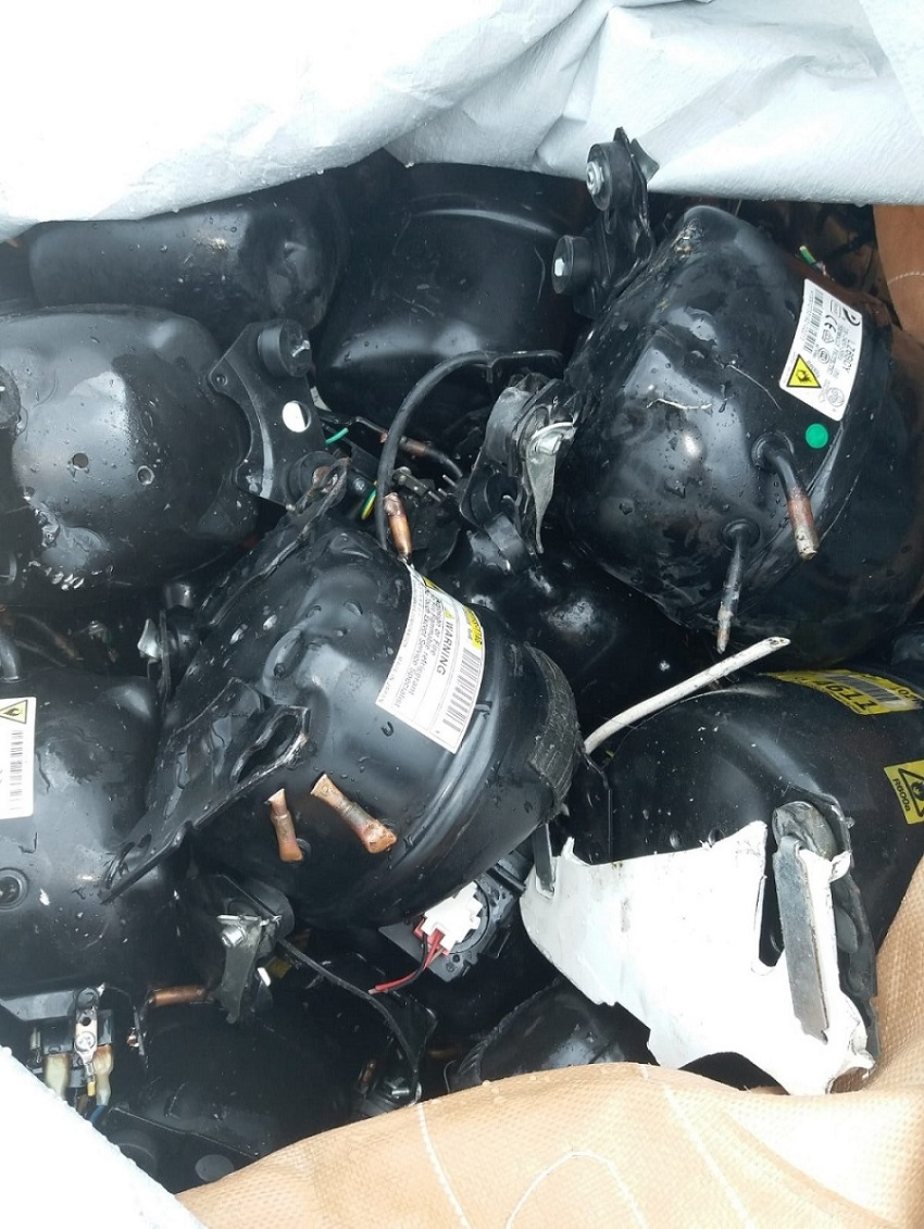 100 Tons Compressor Scrap for Sale