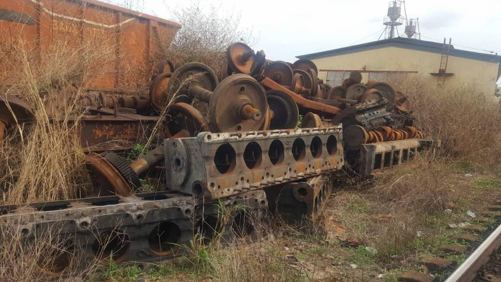 USED RAIL (WHEEL) Scrap