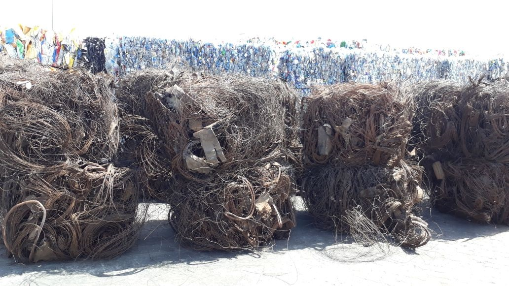 200 Tons Mild Steel Wire Scrap from Tyre for Sale