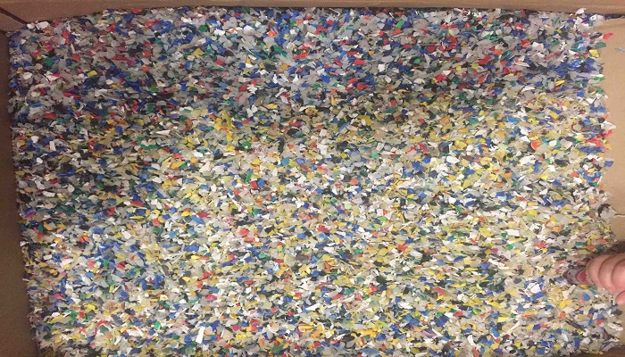 Mixed Color HDPE Bottle Flakes for Sale