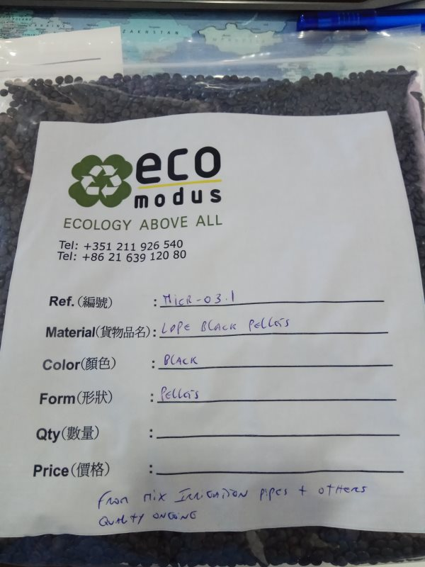Offering MICR-03.1 LDPE Black Pellets