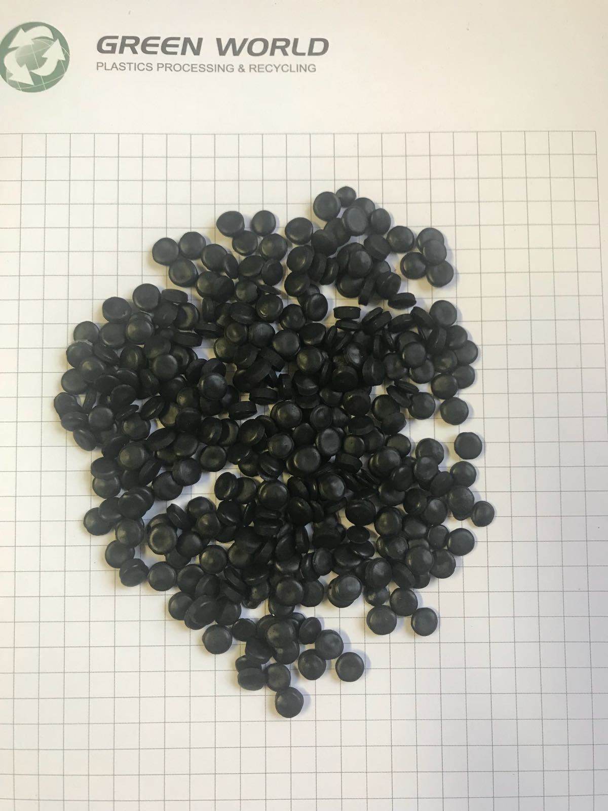 LDPE Black Regranules 400 Tons per Month for Sale