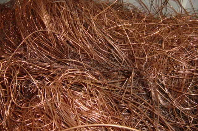 Copper Millberry Scrap 99% for Sale