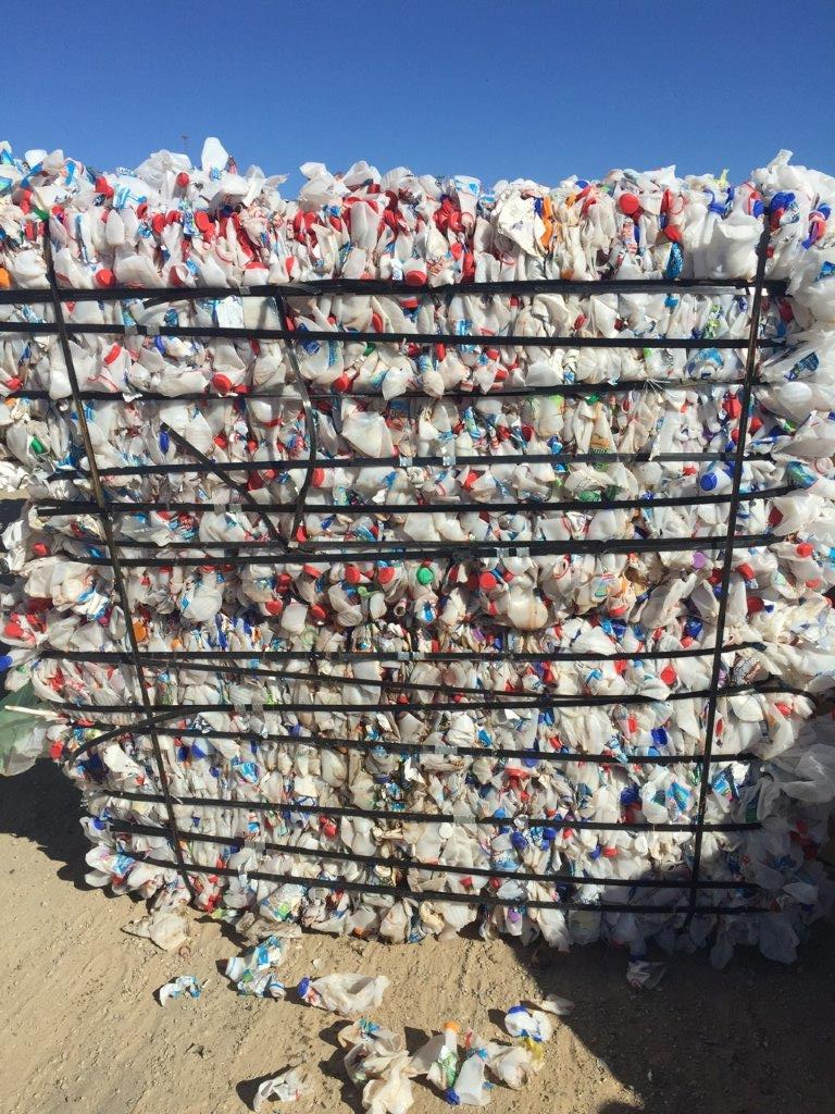 36,000 lbs HDPE Natural Milk Jugs Scrap for Sale