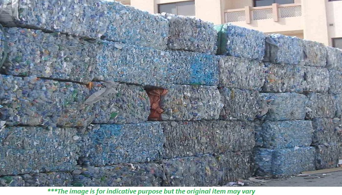 Clear PET Bottle Scrap for Sale in Bales