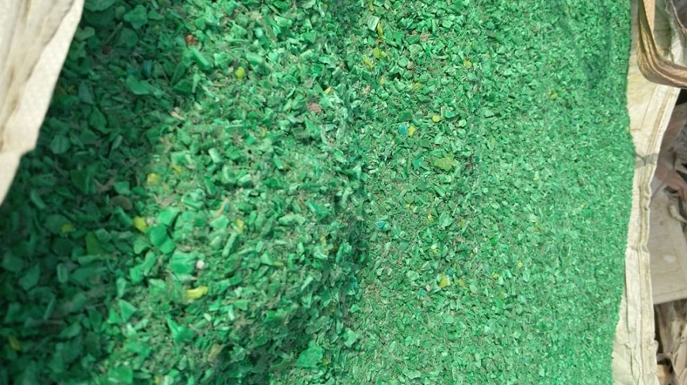25 Tons Green PP Crush Available for Sale @ 440 US $