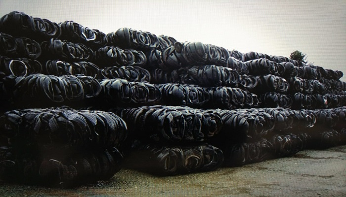 20000 Tons per Month Tyre Scrap for Sale