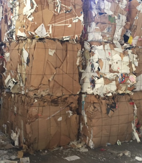300 Tons OCC Scrap for Sale