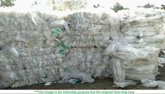 LDPE/LLDPE Natural Clear Film Scrap for Sale 300 MT/Month