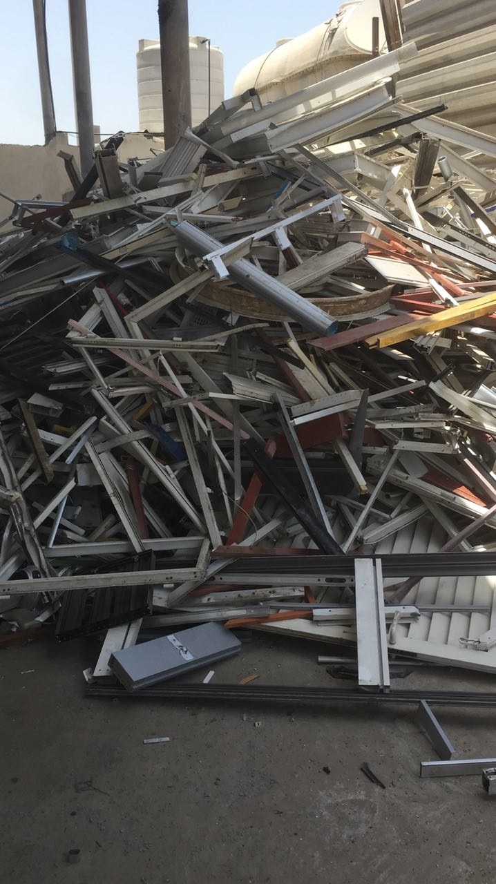 Aluminum 6063 Scrap 200 Tons per Month for Sale